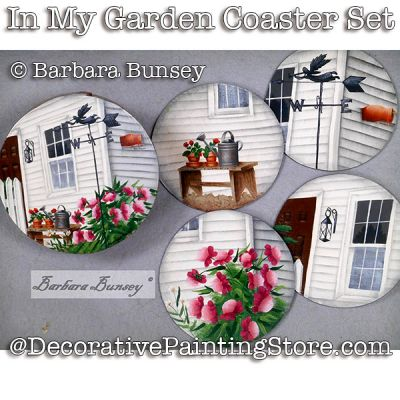 In My Garden ePattern - PDF DOWNLOAD - Barbara Bunsey