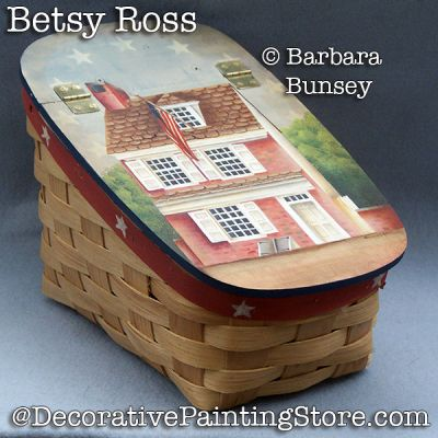 Betsey Ross ePattern - PDF DOWNLOAD - Barbara Bunsey