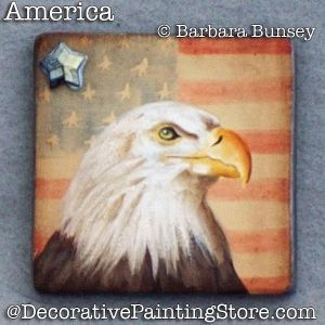 America (Eagle) ePattern - PDF DOWNLOAD - Barbara Bunsey