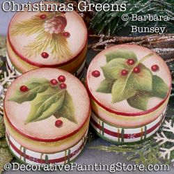Christmas Greens DOWNLOAD - Barbara Bunsey
