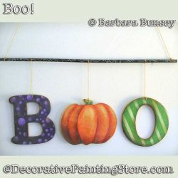 BOO DOWNLOAD Painting Pattern - Barbara Bunsey