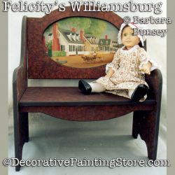 Felicitys Williamsburg DOWNLOAD Painting Pattern - Barbara Bunsey