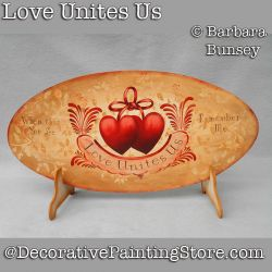 Love Unites Us DOWNLOAD Painting Pattern - Barbara Bunsey