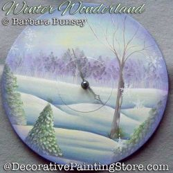 Winter Wonderland DOWNLOAD Painting Pattern - Barbara Bunsey
