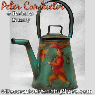 Peter Conductor DOWNLOAD Painting Pattern - Barbara Bunsey