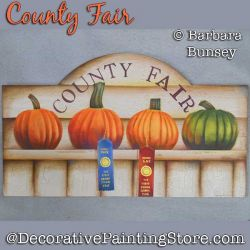 County Fair DOWNLOAD Painting Pattern - Barbara Bunsey