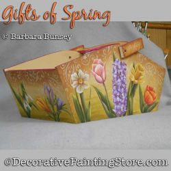 Gifts of Spring DOWNLOAD Painting Pattern - Barbara Bunsey