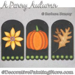 A Penny Autumn Painting Pattern PDF DOWNLOAD - Barbara Bunsey