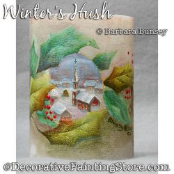 Winters Hush Painting Pattern PDF DOWNLOAD - Barbara Bunsey