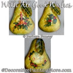 With All Good Wishes (Pears) Painting Pattern PDF DOWNLOAD - Barbara Bunsey