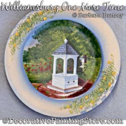 Williamsburg One More Time Painting Pattern PDF DOWNLOAD - Barbara Bunsey
