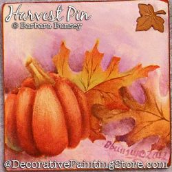 Harvest Pin Painting Pattern PDF DOWNLOAD - Barbara Bunsey