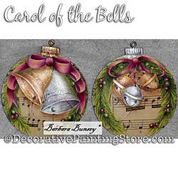 Carol of the Bells Painting Pattern PDF DOWNLOAD - Barbara Bunsey