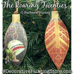 The Roaring Twenties Ornaments Painting Pattern PDF DOWNLOAD - Barbara Bunsey