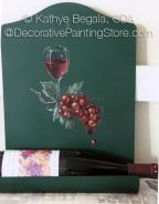 Up North Wine Pattern - Kathye Begala CDA - PDF DOWNLOAD