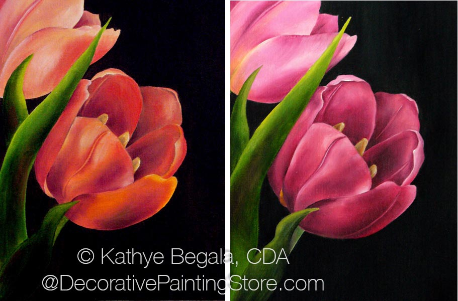 Spring Tulips Pattern - Kathye Begala CDA - PDF DOWNLOAD