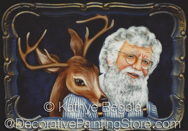 Santa and Friend ePattern - Kathye Begala CDA - PDF DOWNLOAD
