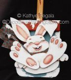 Winter Fun Bunny ePattern - Kathye Begala CDA - PDF DOWNLOAD