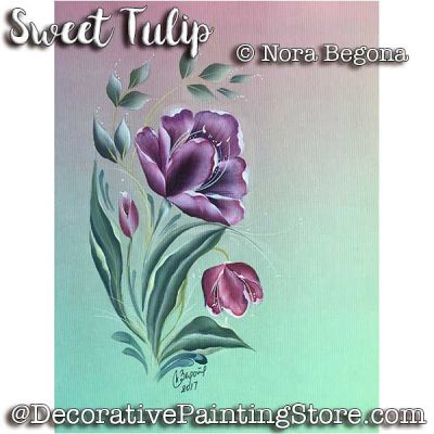 Sweet Tulip ePattern - Nora Begona - PDF DOWNLOAD