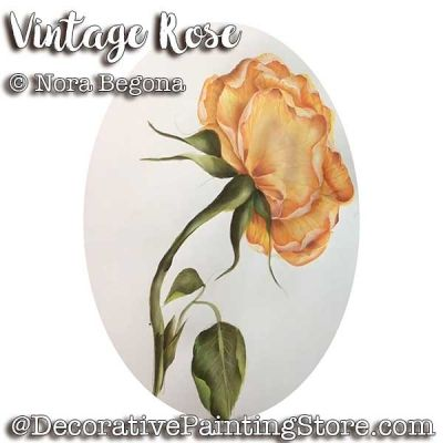 Vintage Rose ePattern - Nora Begona - PDF DOWNLOAD