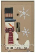 Frosty Switchplate Cover Pattern - Becky Levesque - PDF DOWNLOAD