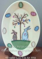 Easter Egg Tree Pattern - Becky Levesque - PDF DOWNLOAD