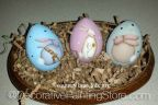 Easter Bunny Eggs Pattern - Becky Levesque - PDF DOWNLOAD