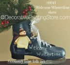 Welcome Wintertime Skate Pattern - Becky Levesque - PDF DOWNLOAD