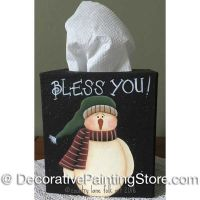 Bless You Tissue Box ePattern - Becky Levesque - PDF DOWNLOAD