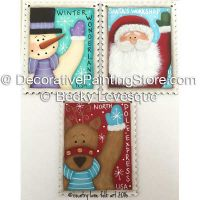 Christmas Stamps ePattern - Becky Levesque - PDF DOWNLOAD