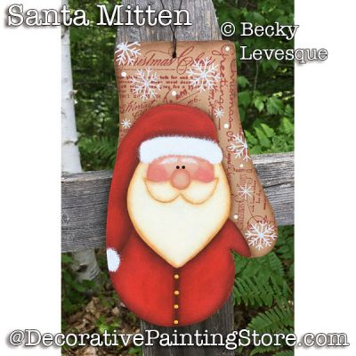 Santa Mitten - Becky Levesque - PDF DOWNLOAD