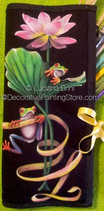 Frogs and Water Lily  - Luciana Brini - PDF DOWNLOAD