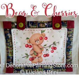 Bear & Cherries ePattern - Luciana Brini - PDF DOWNLOAD