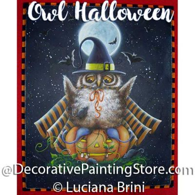 Owl Halloween ePattern - Luciana Brini - PDF DOWNLOAD