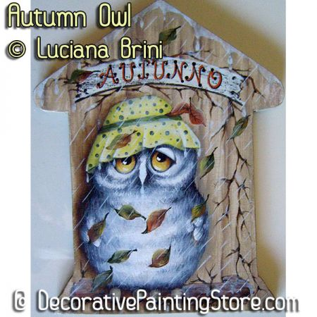 Autumn Owl ePattern - Luciana Brini - PDF DOWNLOAD