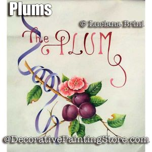 Plums ePattern - Luciana Brini - PDF DOWNLOAD