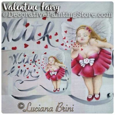 Valentine Fairy ePattern - Luciana Brini - PDF DOWNLOAD