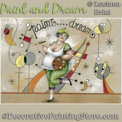 Paint and Dream Fairy ePattern - Luciana Brini - PDF DOWNLOAD