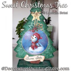 Sweet Christmas Tree ePattern - Luciana Brini - PDF DOWNLOAD