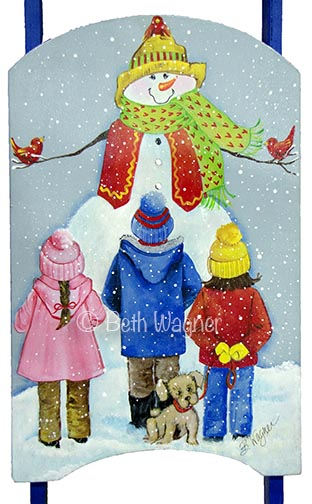 Snow Buddies Sled e-Pattern DOWNLOAD