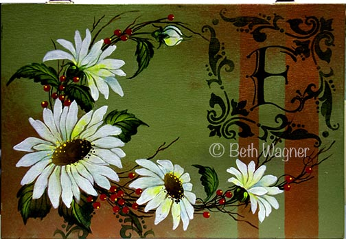 Daisy Box or Canvas DOWNLOAD