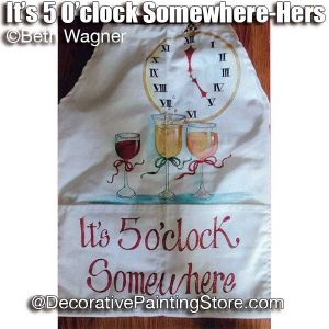 Its 5 oClock Somewhere-Hers ePattern - Beth Wagner - PDF DOWNLOAD