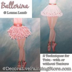 Ballerina DOWNLOAD Painting Pattern - Lonna Lamb