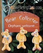 Bear Collector ePattern - Anne Cahill - PDF DOWNLOAD