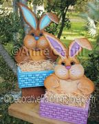 Milo & Vo Vo Easter Baskets ePattern - Anne Cahill - PDF DOWNLOAD