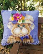 Molly Bear Cushion ePattern - Anne Cahill - PDF DOWNLOAD