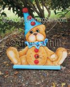 Pedro Bear Clock ePattern - Anne Cahill - PDF DOWNLOAD