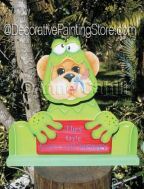 Ribbit Bear ePattern - Anne Cahill - PDF DOWNLOAD