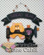 Thread Bear ePattern - Anne Cahill - PDF DOWNLOAD