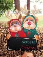 Xmas count Down (Two) ePattern - Anne Cahill - PDF DOWNLOAD